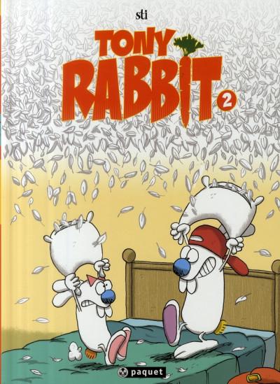 image de tony rabbit tome 2 - le coup du lapin