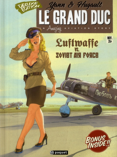 Couverture Le grand duc tome 1 - luftwaffe vs. soviet air force