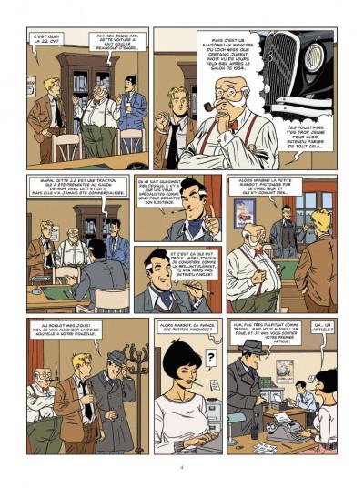Page 2 enquêtes auto de margot tome 1 - le mystère de la traction 22