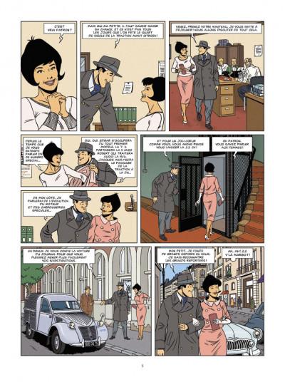 Page 3 enquêtes auto de margot tome 1 - le mystère de la traction 22