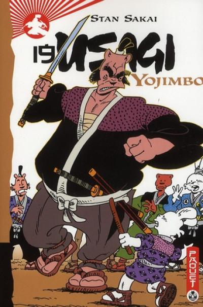 Couverture usagi yojimbo tome 19