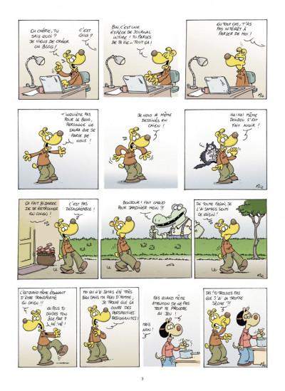 Page 1 ma vie de wouf tome 1