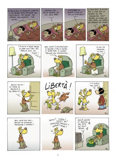 Page 4 ma vie de wouf tome 1
