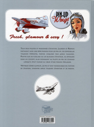 Dos pin up wings tome 2