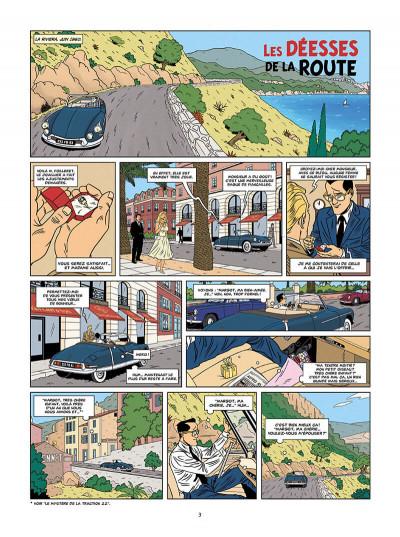 Page 3 les enquêtes auto de Margot tome 2 - les déesses de la route