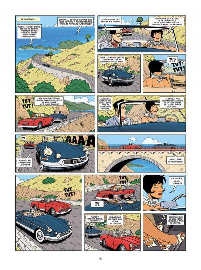 Page 6 les enquêtes auto de Margot tome 2 - les déesses de la route