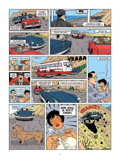 Page 7 les enquêtes auto de Margot tome 2 - les déesses de la route