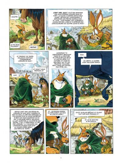 Page 3 L'épée d'Ardenois tome 2