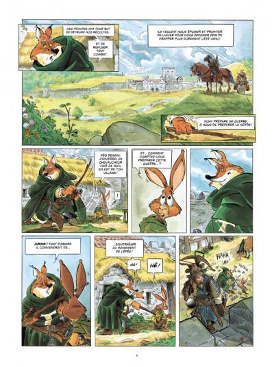 Page 4 L'épée d'Ardenois tome 2