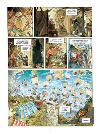 Page 5 L'épée d'Ardenois tome 2