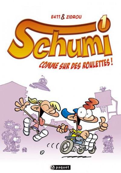 image de Schumi tome 1 - comme sur des roulettes !