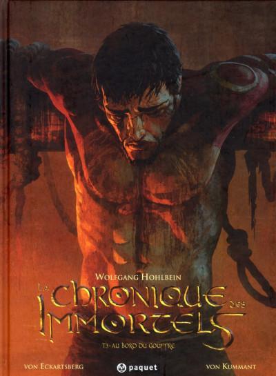 Couverture La chronique des immortels tome 3 - au bord du gouffre tome 3