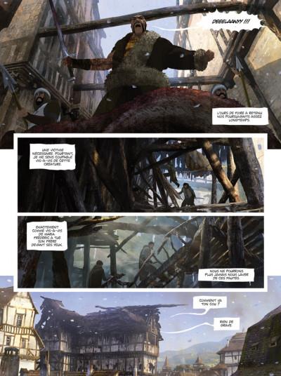 Page 1 La chronique des immortels tome 3 - au bord du gouffre tome 3