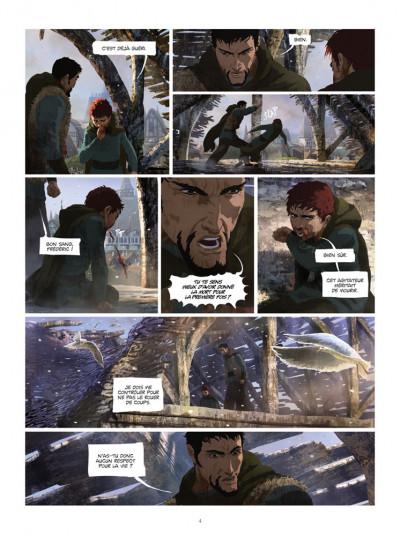 Page 2 La chronique des immortels tome 3 - au bord du gouffre tome 3