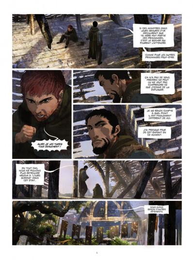 Page 4 La chronique des immortels tome 3 - au bord du gouffre tome 3