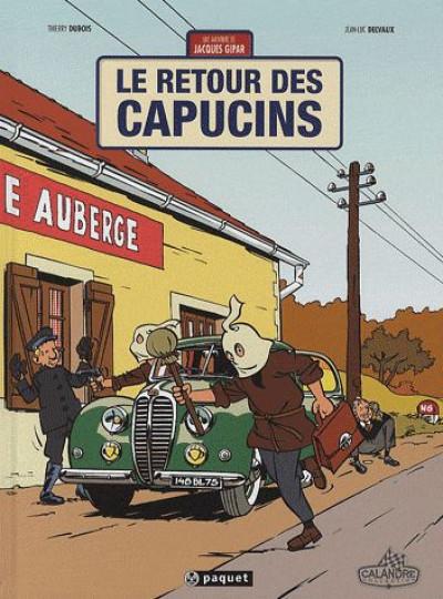 image de Une aventure de Jacques Gipar tome 2 - le retour des capucins