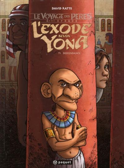 image de le voyage des pères - 2ème époque - l'exode selon Yona tome 1 - descendance