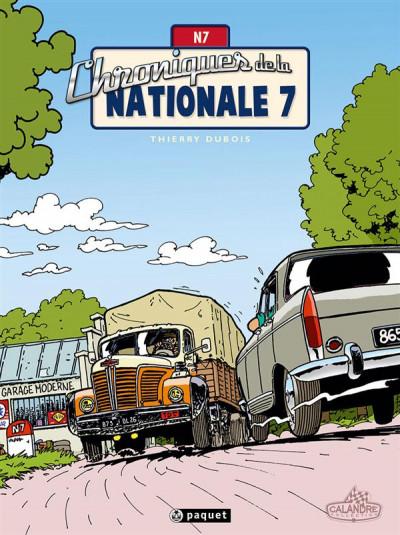 Couverture Chroniques de la nationale 7