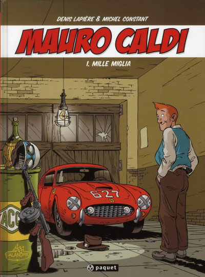 Couverture Pack Mauro Caldi tomes 1 à 4 + voiture minialuxe offerte
