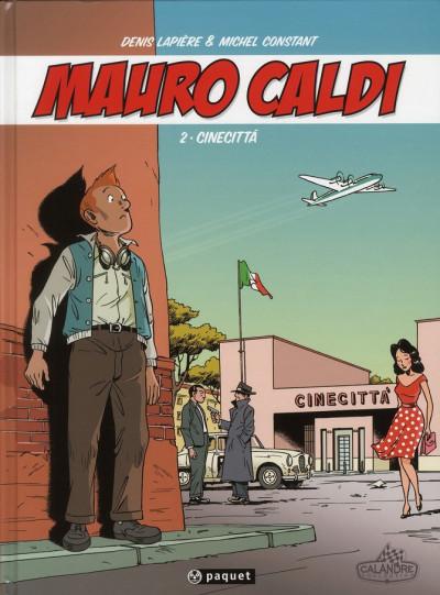 Couverture Mauro Caldi tome 2 - Cinecitta