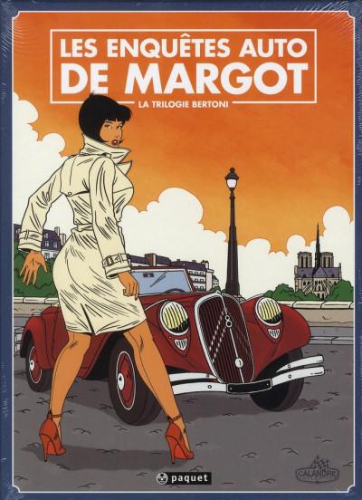 image de les enquêtes auto de Margot - coffret tome 1 à tome 3