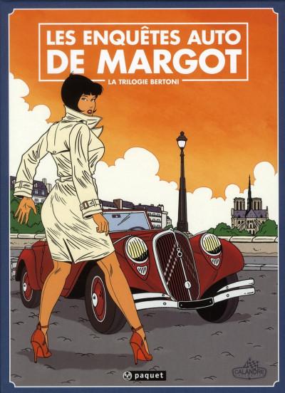 image de les enquêtes auto de Margot - coffret tome 3 + place pour les tome 1 et 2