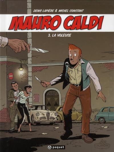 Couverture Mauro Caldi tome 3 - la voleuse