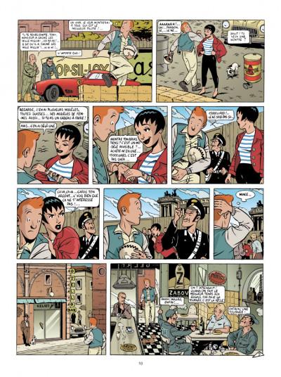 Page 4 Mauro Caldi tome 3 - la voleuse