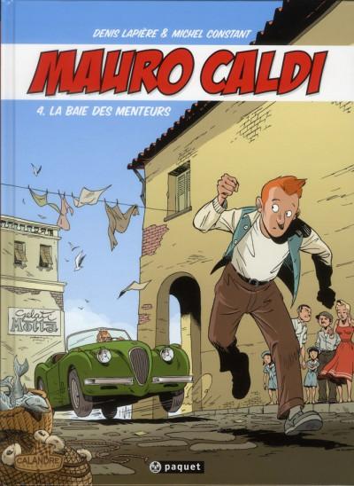 Couverture Mauro Caldi tome 4 - La Baie des menteurs