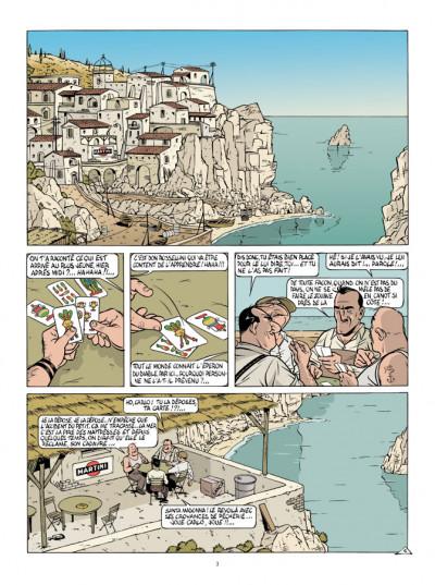 Page 1 Mauro Caldi tome 4 - La Baie des menteurs