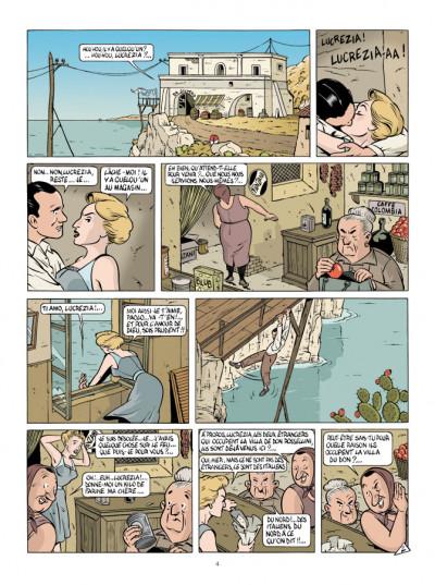Page 2 Mauro Caldi tome 4 - La Baie des menteurs