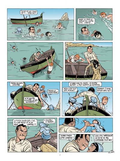 Page 5 Mauro Caldi tome 4 - La Baie des menteurs