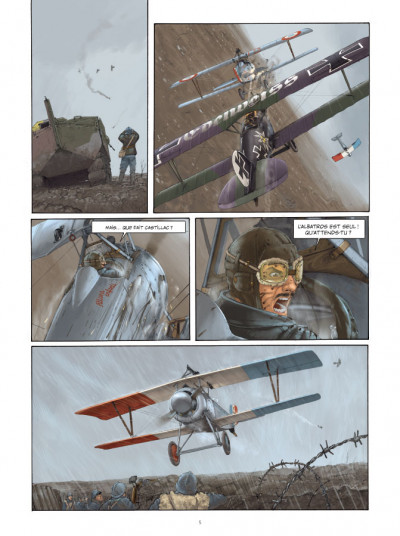 Page 3 le pilote à l'edelweiss tome 1 - Valentine (Luxe)