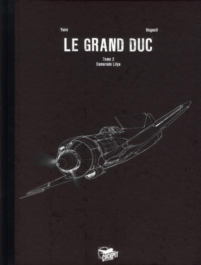 Couverture Le grand duc tome 2 - édition de luxe