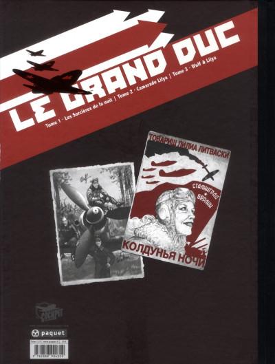 Dos Le grand duc tome 2 - édition de luxe