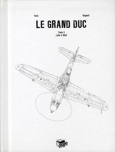 Couverture le grand duc tome 3 - édition de luxe - Wulf et Lilya