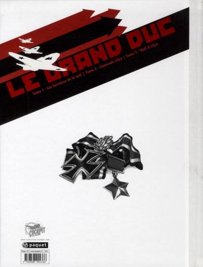 Dos le grand duc tome 3 - édition de luxe - Wulf et Lilya