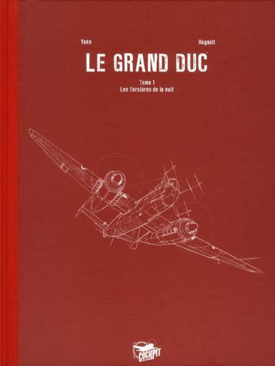 Couverture Le grand duc tome 1 - édition de luxe
