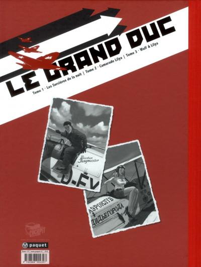 Dos Le grand duc tome 1 - édition de luxe