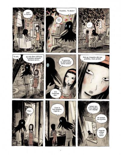 Page 5 Des fragments de l'oubli tome 1 - Faustine