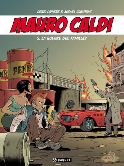 Couverture Mauro Caldi tome 5 - la guerre des familles