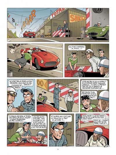 Page 3 Mauro Caldi tome 5 - la guerre des familles
