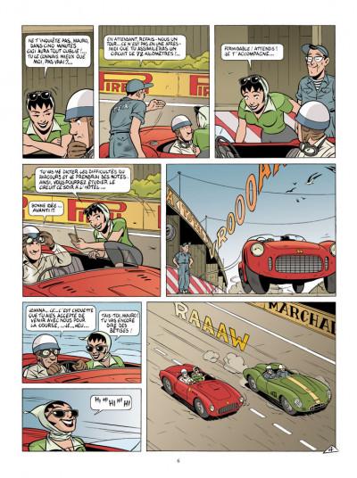 Page 4 Mauro Caldi tome 5 - la guerre des familles