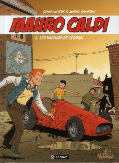 Couverture Mauro Caldi tome 6 - Les voleurs de Ferrari