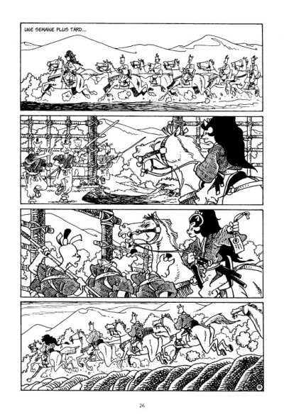 Page 1 usagi yojimbo tome 21