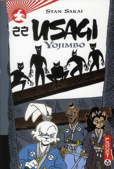 Couverture usagi yojimbo tome 22