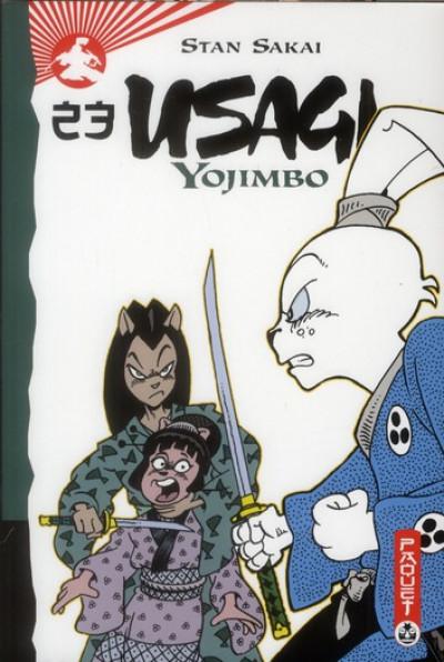 Couverture usagi yojimbo tome 23