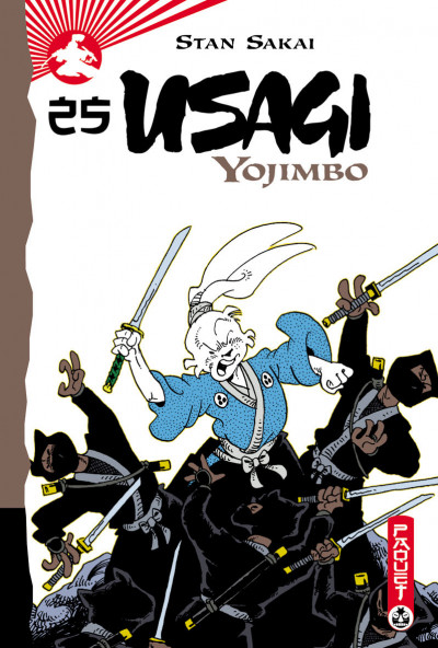 Couverture Usagi yojimbo tome 25