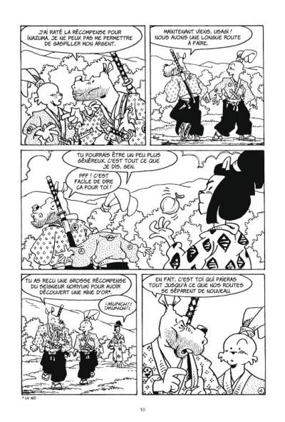 Page 4 Usagi yojimbo tome 25