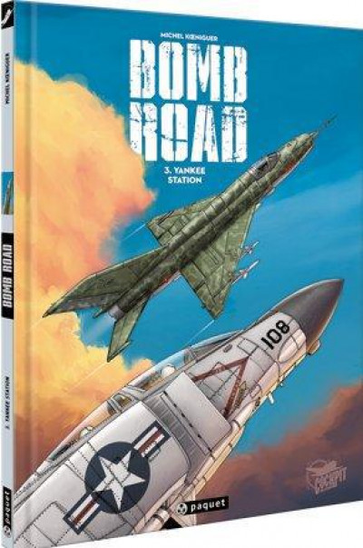 Couverture bomb road tome 3 - Yankee station